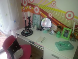 kinderzimmer 39 m dchenzimmer 39 unser neues haus zimmerschau. Black Bedroom Furniture Sets. Home Design Ideas
