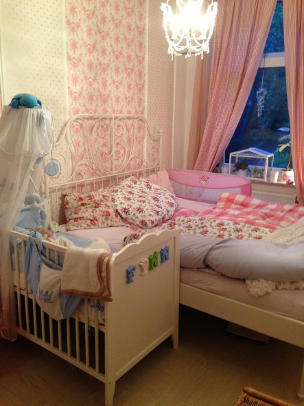 Solang mein Sohn im Schlafzimmer schläft musste eine passende Lösung gefunden werden. Dies ist meine Interpretation
