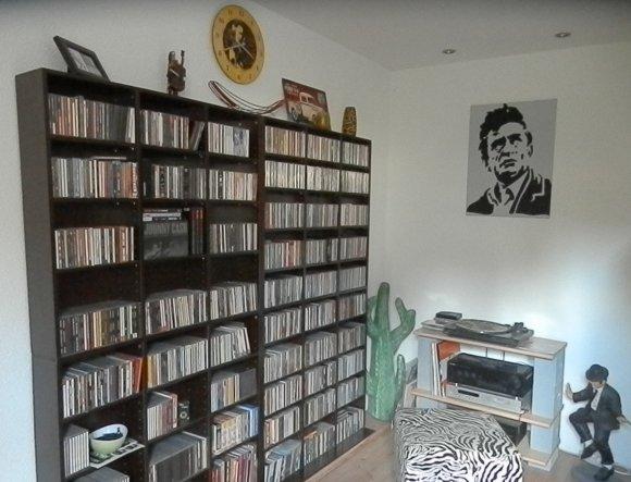 Unsere CD-Sammlung.....