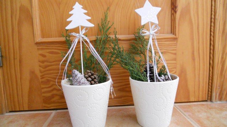 Weihnachtsdeko mi casa von vivasusi 34550 zimmerschau - Weihnachtsdeko mit tannenzapfen ...