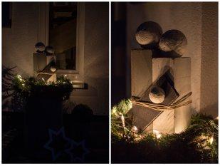 weihnachtsdeko vor der t r von leopold 29687 zimmerschau. Black Bedroom Furniture Sets. Home Design Ideas