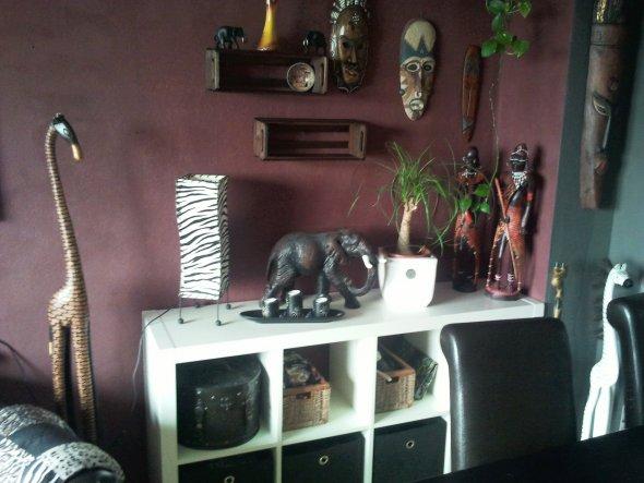 Wohnzimmer Afrika Progo