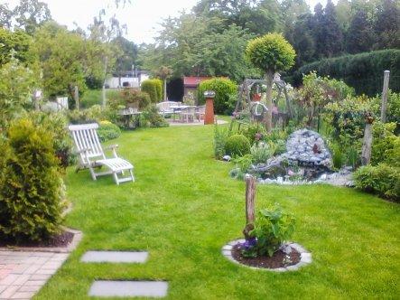 Der Garten auf einen Blick