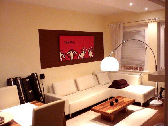 wohnzimmer rot orange. Black Bedroom Furniture Sets. Home Design Ideas