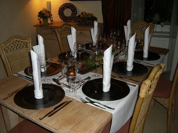 Esszimmer 'Tischdeko'