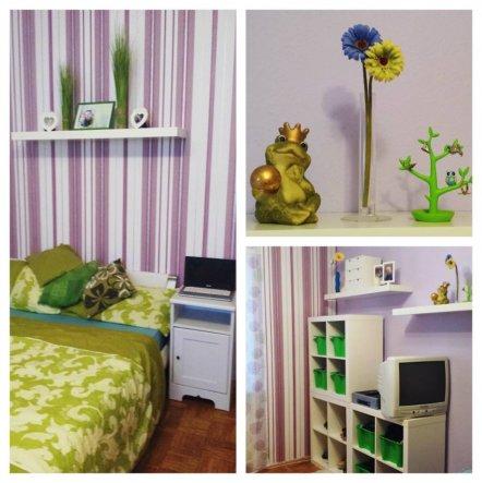 Schlafzimmer 'Ein Traum in Fliederfarben <3'