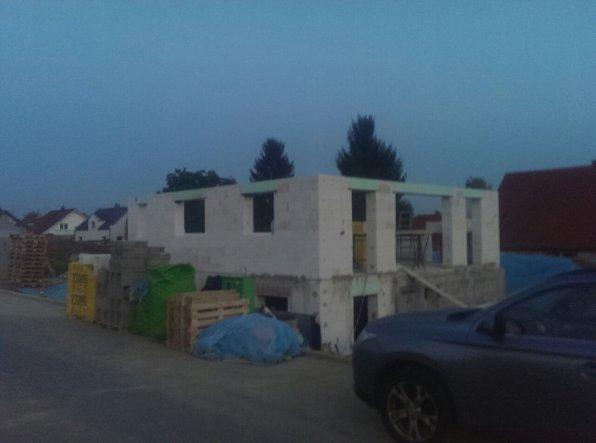 Hausfassade / Außenansichten 'hausbau, rohbau'
