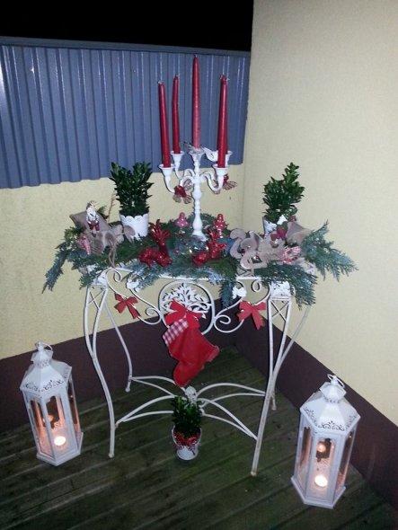 Weihnachtsdeko 'HOME SWEET HOME'