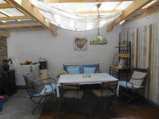 Gartenküche Gartenbett Vorhof