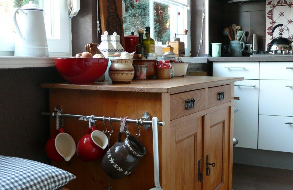 Küche von kleinesnaehzimmer