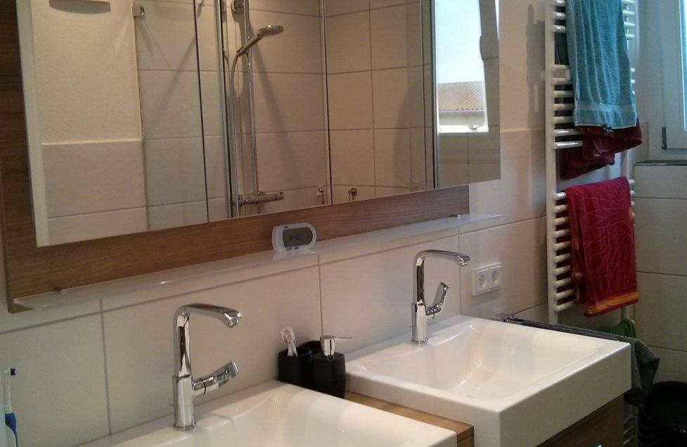 Unser kleines aber feines Badezimmer von Cassa85