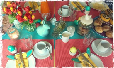 'Osterfrühstück' von Brokkolise