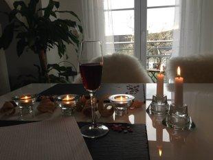 Küche, Wohn- und Essbereich