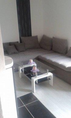 unser neuer Wohn/Essbereich
