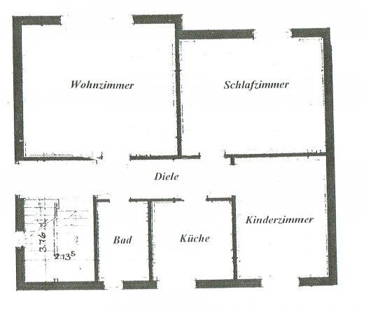 Wohnzimmer 'Unsere Mittlere Etage '