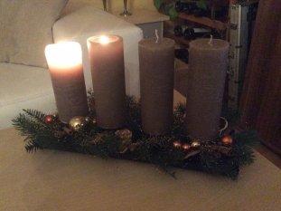 Weihnachts-Wohnzimmer