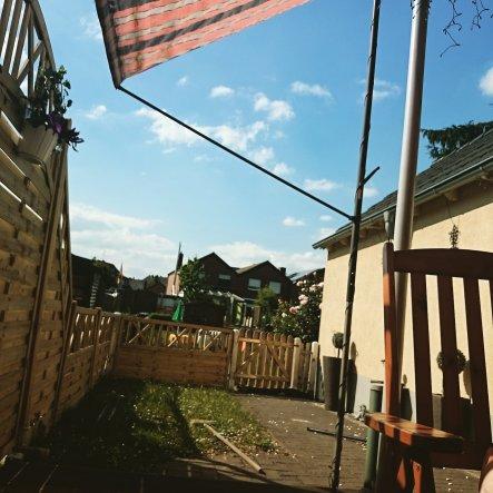 Wohnmobil 'Terasse und Garten'