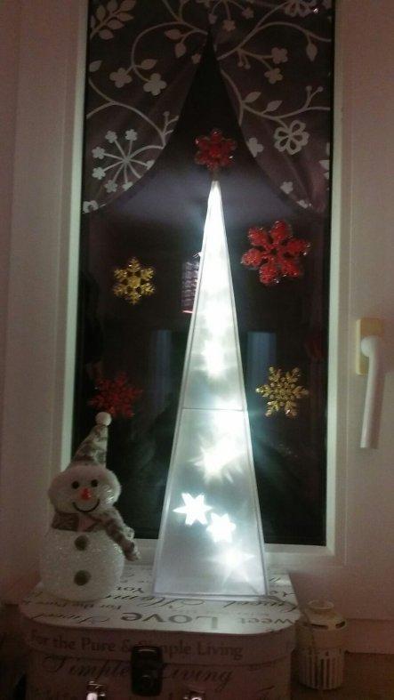 Weihnachtsdeko 'Flur'