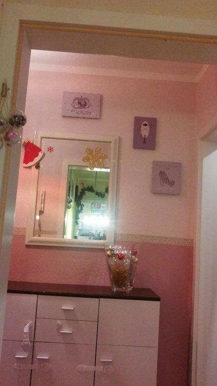 weihnachtsdeko 39 flur 39 mein domizil zimmerschau. Black Bedroom Furniture Sets. Home Design Ideas