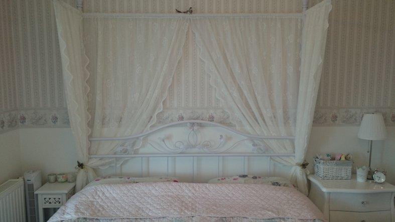 Ein Himmelbett war immer mein großer Traum!