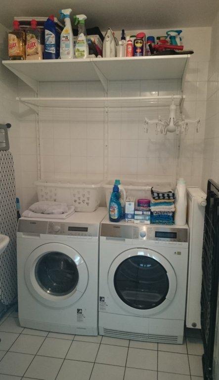 Klein, aber fein - und alles drin, was eine Waschküche braucht! :-)