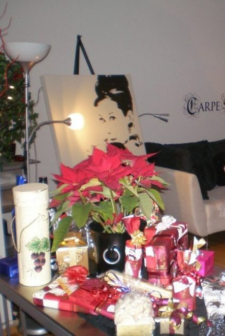 Weihnachtsdeko 'Weihnachten - Silvester 2008/2009'