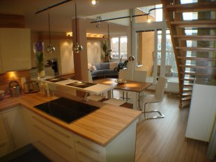 wohnzimmer: wohnideen & einrichtung - zimmerschau - Wandgestaltung Wohnzimmer Mediterran