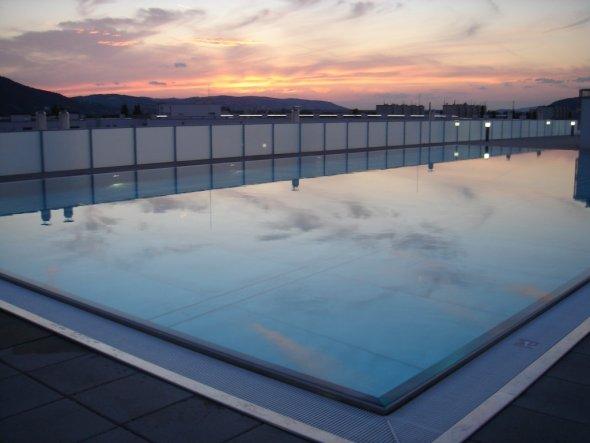 Pool / Schwimmbad 'Dachpool'