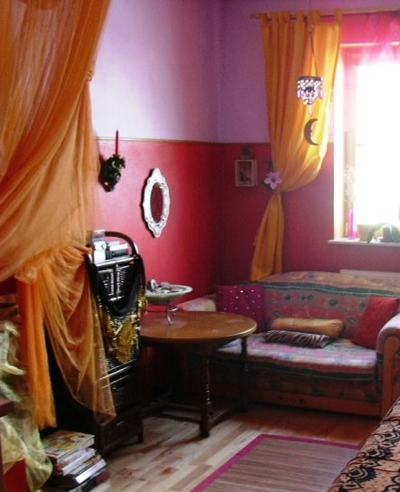 Wohnzimmer 'orientalisches Gästezimmer'
