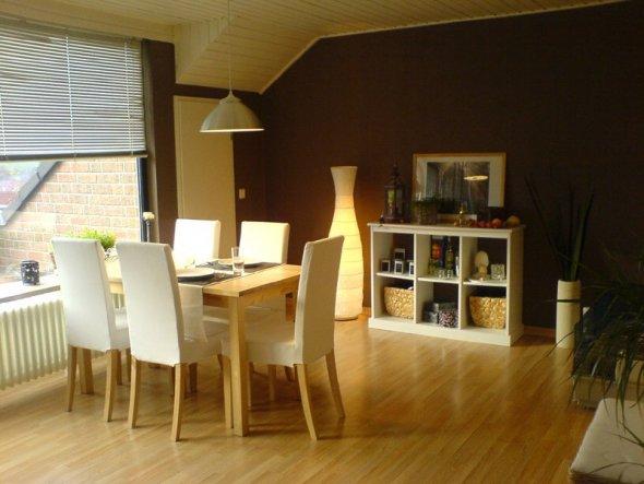 esszimmer 39 essbereich 39 unsere erste gemeinsame wohnung zimmerschau. Black Bedroom Furniture Sets. Home Design Ideas