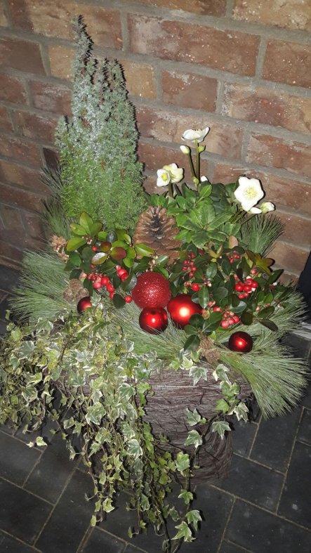 Weihnachtsdeko 'Weihnachten Draußen'