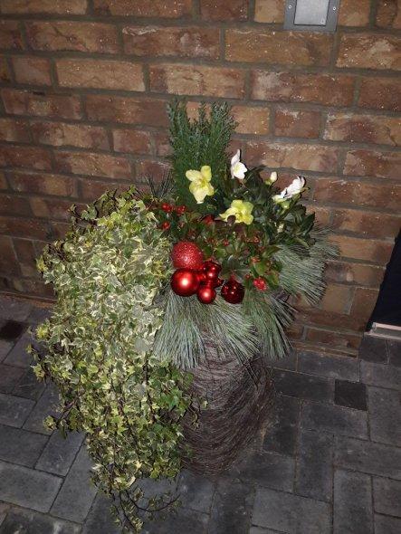 Weihnachtsdeko 'Weihnachten im Garten 2017'