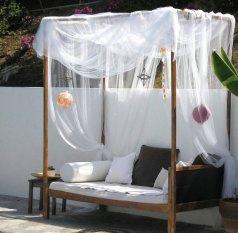 Terrasse / Balkon 'Tagesbett'