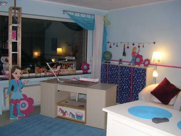 Kinderzimmer 39 polly pocket zimmer 39 mein domizil zimmerschau - Bett hinterwand ...