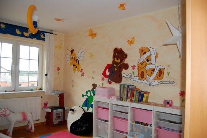 Kinderzimmer 'süße Träume umgestalltet'