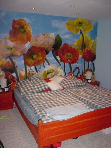 Schlafzimmer 'Blumenreich'