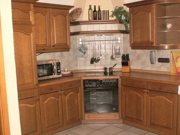 Küche neu lackieren  ehrfurchtig alte kuche streichen eiche kuchenschranke haus weia ...