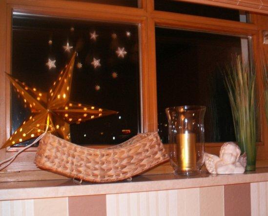Deko Schlafzimmerfenster