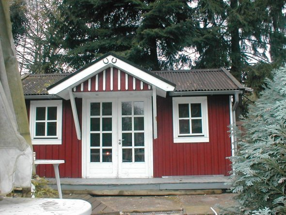 Garten 'Gartenhaus'