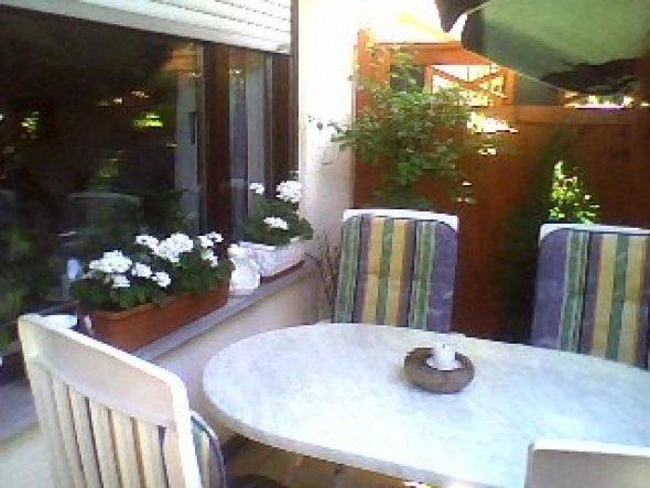 Terrasse / Balkon 'Miniterasse'
