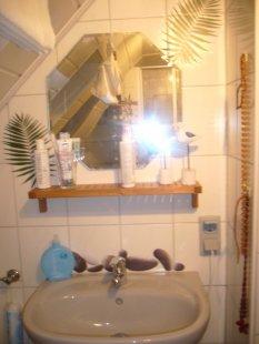 Unser kleines Badezimmer