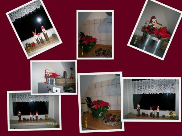 ..weihnachtliche Deko in meiner Küche