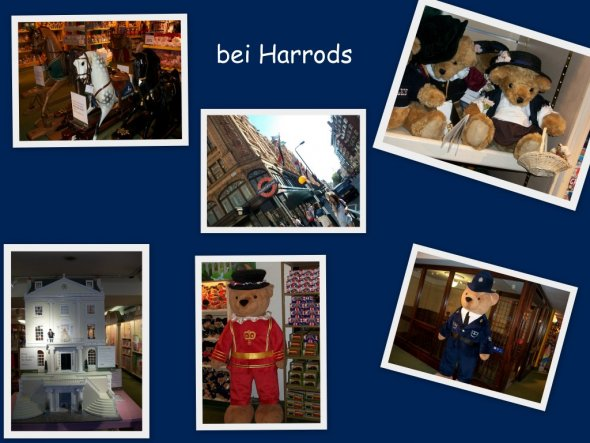 Ein winzig kleiner Einblick in die Spielwaren-Abteilung bei Harrods...die Auswahl der Fotos fiel schwer, aber ich kann nicht alle Fotos hochladen ;-)