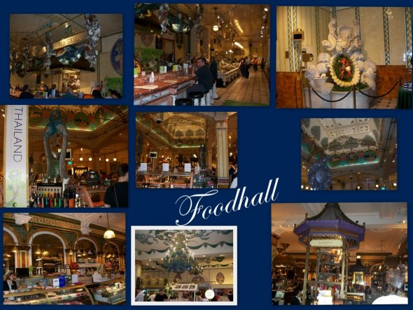 Die Foodhalls sind der absolute Wahnsinn..sowas habe ich bislang nur in London gesehen