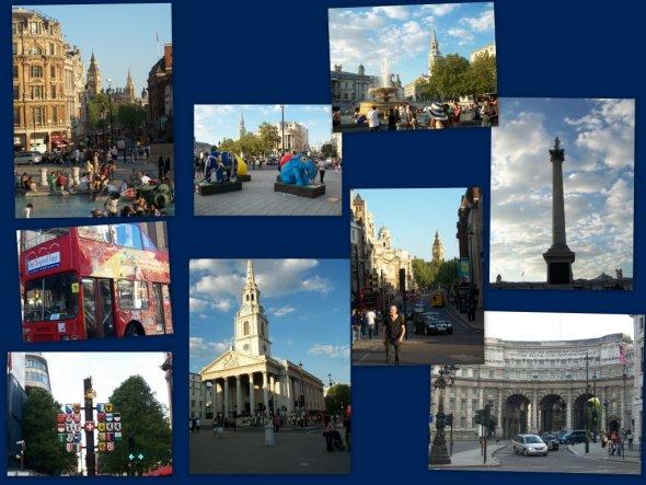 Hausfassade / Außenansichten 'Pfingsten in London'