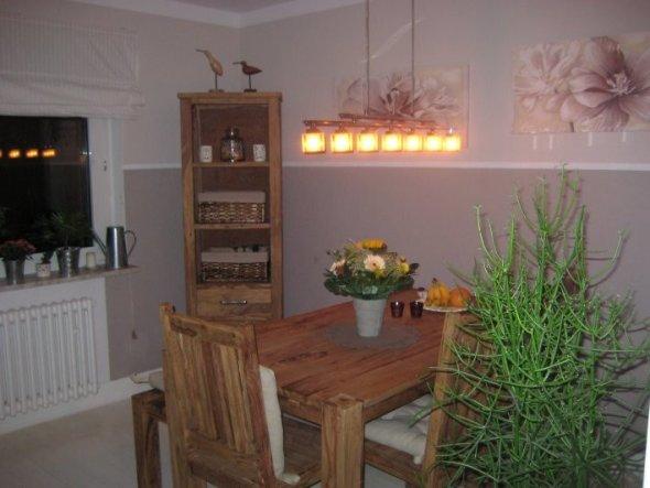 wandgestaltung esszimmer landhaus gemtlich auf moderne deko ideen, Wohnzimmer design