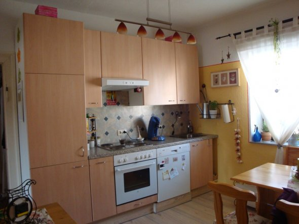 Küche Unser kleines Reich von Malerklecksl - 6930 - Zimmerschau