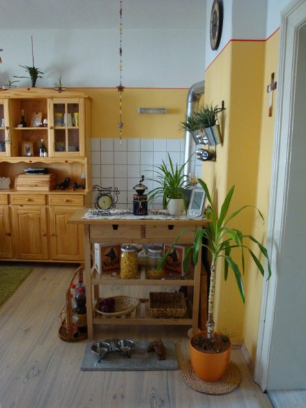 Küche \'Unsere kleine feine Küche\' - Unser kleines Reich - Zimmerschau