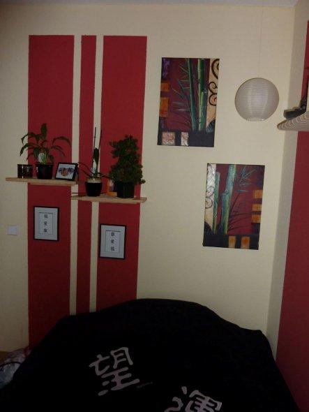 Schlafzimmer 'Asia'