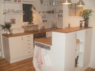 Skandinavisch 'mitt kök'